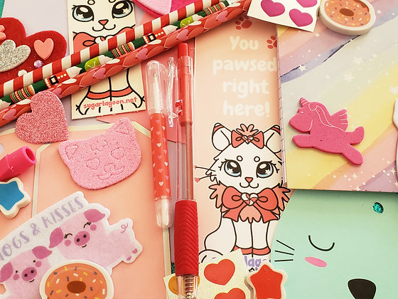 Sweet on You Meowgical Stationary Mystery Pack