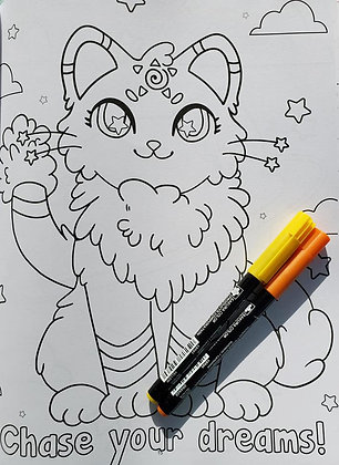 Catstellations Coloring Book One