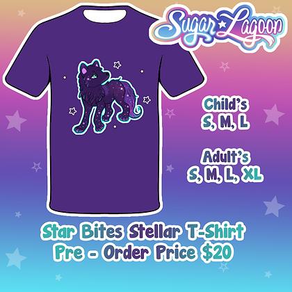 Star Bites Stellar Wolf Shirt