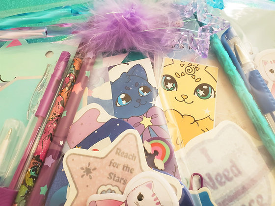 Journal and Meowgical Stationary Mystery Pack