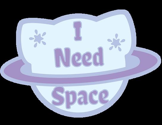 I need Space Sticker