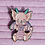 Thumbnail: Sugar the Baby Dragon Pastel Pearly Rainbow Enamel Pin