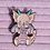Thumbnail: Sugar the Baby Dragon Pastel Pearly Rainbow Enamel Pin