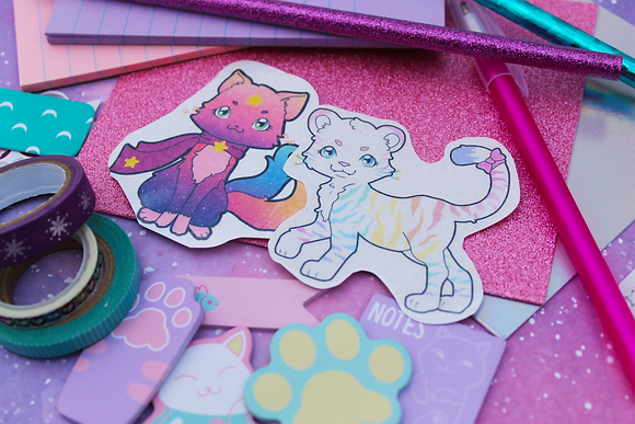 Meowgical Stationary Mystery Pack