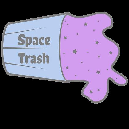 Space Trash Sticker