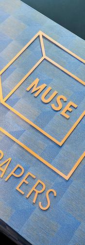 Detalhe da instalação da Muse Wallpapers no BOOMSPDESIGN