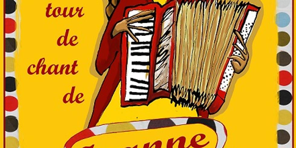 Jeanne Bouton d'or ( jeudi)