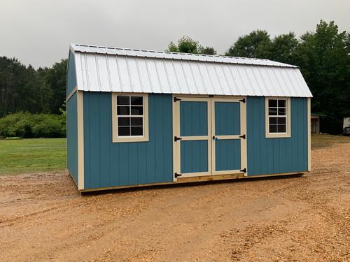 12x20 Side Lofted Barn