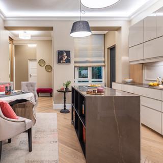 Gellérthegy Kitchen and dining