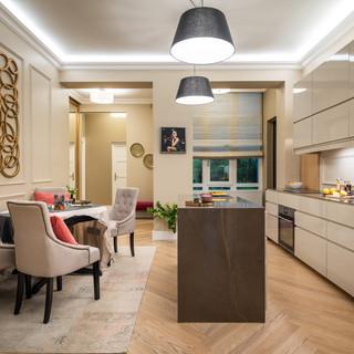 Gellérthegy - Kitchen and dining