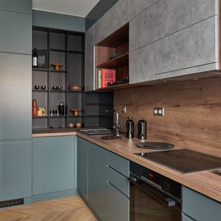 K40 B apartment kitchen