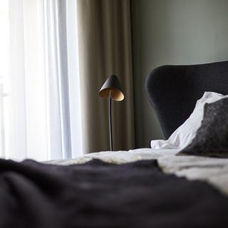 Master bedroom custom made bed