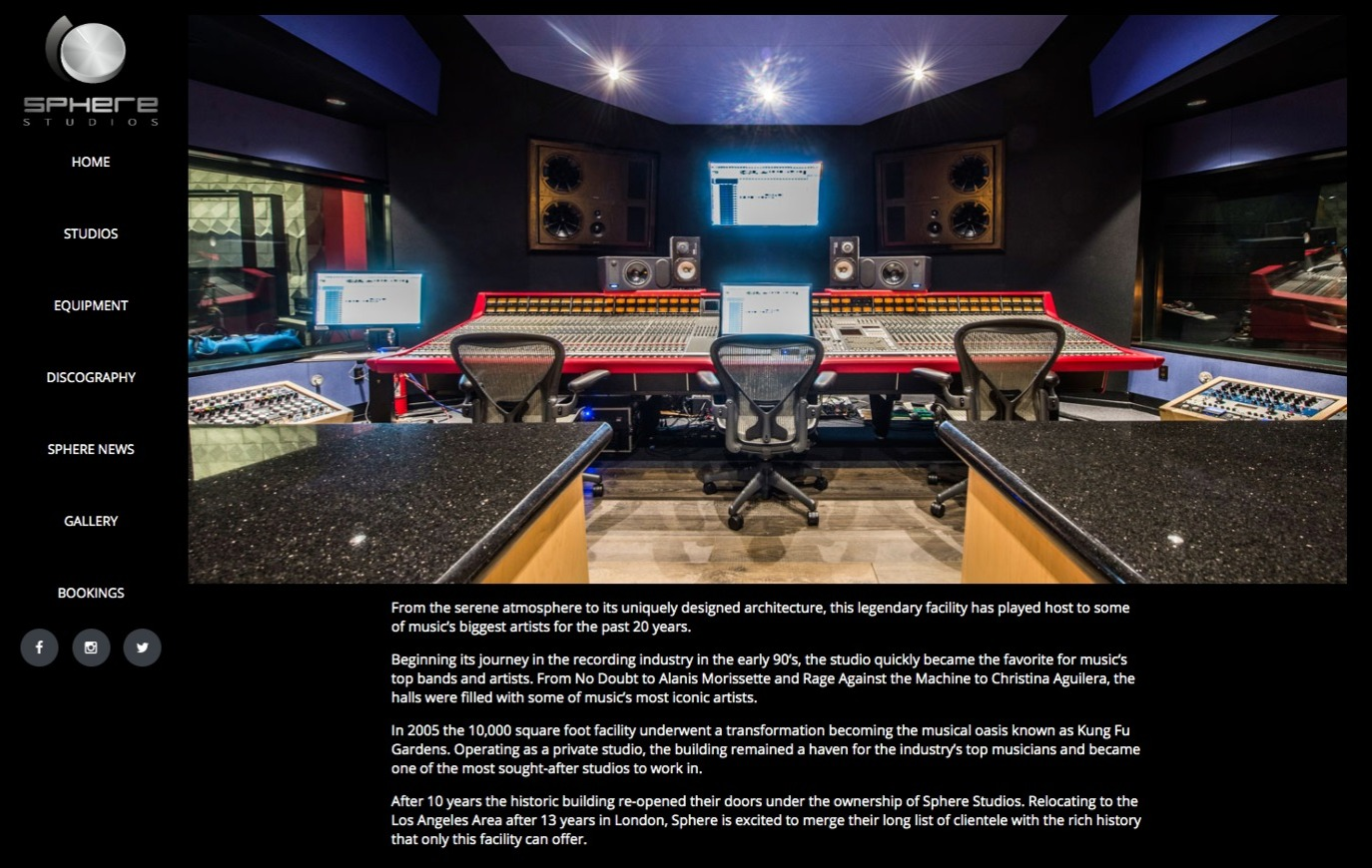Sphere Studios | Los Angeles