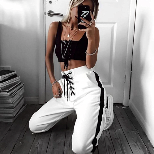 Kylie' pantalones del conjunto