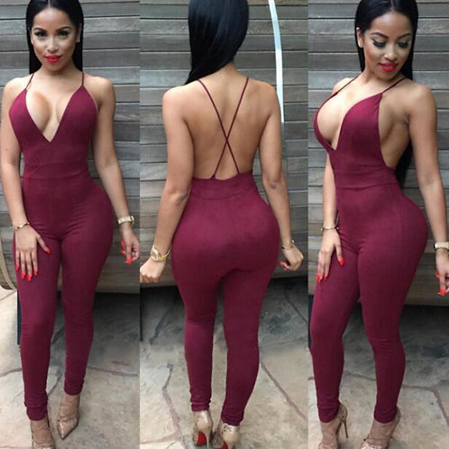 ALMA'  backless catsuit