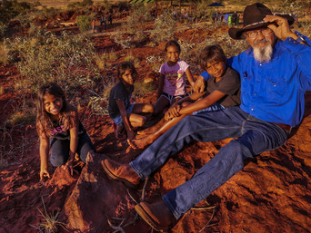 Camping with Custodians: Tourists experience Dreamtime camping at NW station