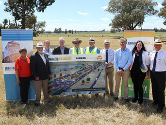 Pacific National Commits Initial $35 Million to Parkes Logistics Terminal