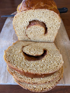 Pumpkin Bread with Cinnamon Swirl