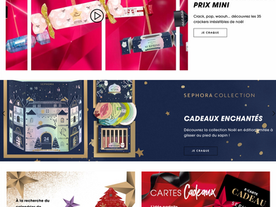 SEPHORA FRANCE CHRISTMAS INTERACTIVE VIDEO CAMPAIGN