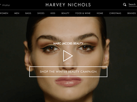 HARVEY NICHOLS, MARC JACOBS MAKEUP TUTORIAL INTERACTIVE VIDEO