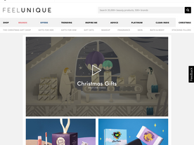 FEELUNIQUE - A SHOPPABLE CHRISTMAS VIDEO
