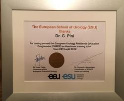 6 anni di servizio presso EUREP