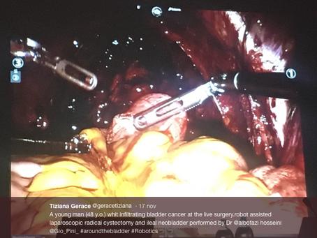 Chirurgia in diretta con Dr. Hosseini (Università Karolinska, Stoccolma) durante convegno AROUND THE