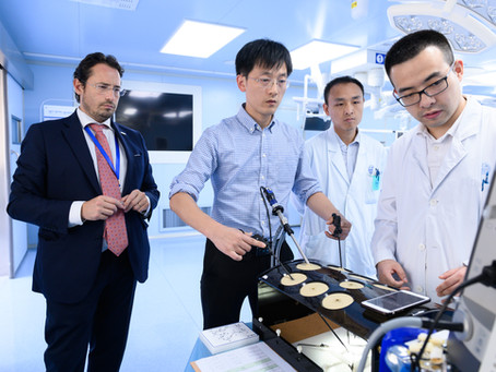 Faculty durante il 1°SET-UP Programme, Università Militare Changzheng, Shanghai (Cina) 09.2019