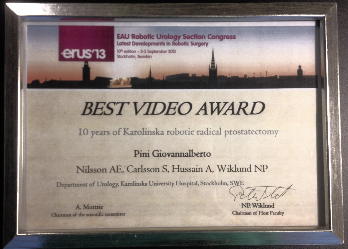 1° premio - ERUS 2013