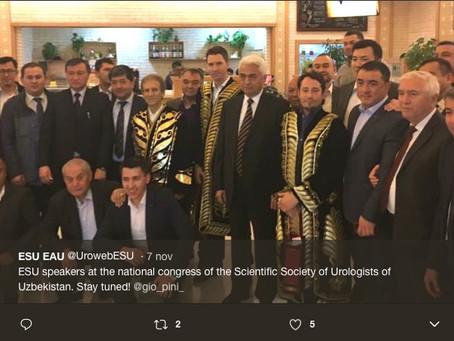 Faculty member ESU-EAU course (Tashkent, Uzbekistan) 06.11.2017  Chair A. Alcaraz, Barcelona (ES),