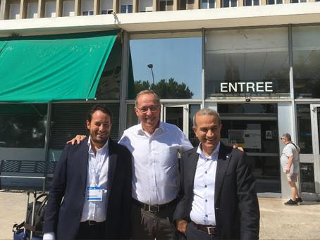 Chirurgia in diretta con Prof. Wiklund e Dr. Hosseini (Università Karolinska, Stoccolma, SWE) durant