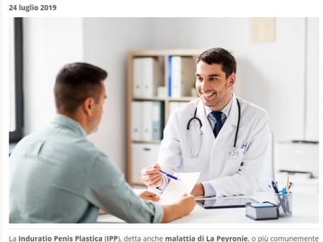 Nuove informazioni sul trattamento del pene curvo, malattia di La Peyronie