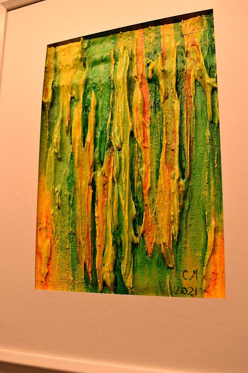 Abstract 3D Framed Artwork