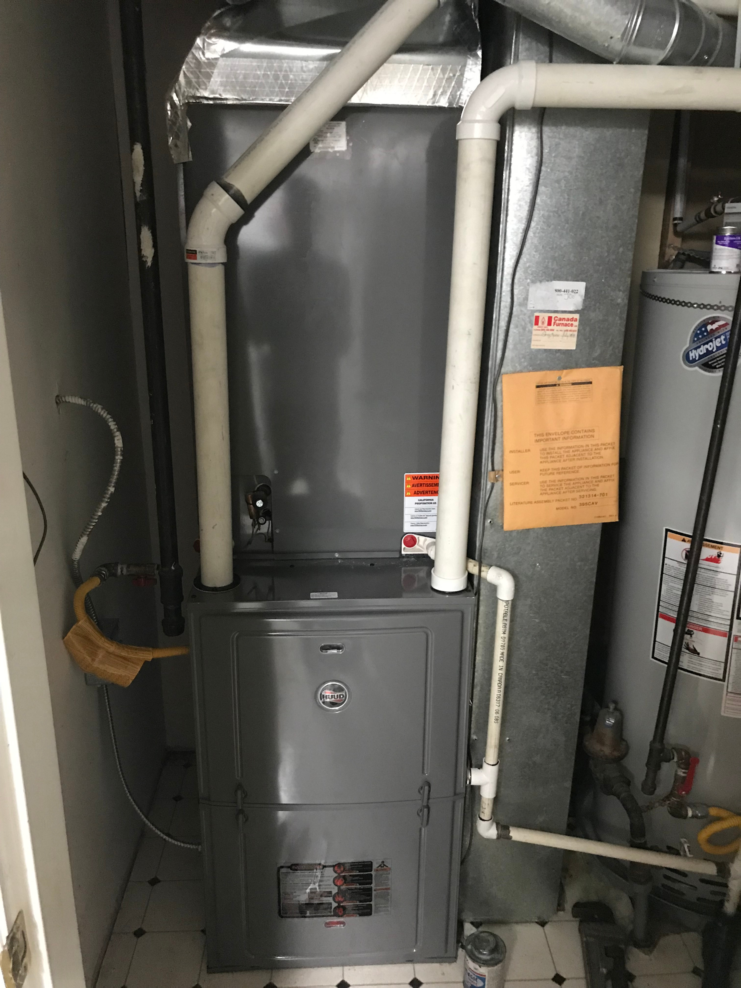 Furnace and Air Conditioning Service