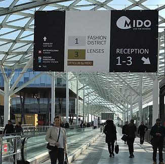 Della Optique visits Mido Eyewear Trade Show Italy