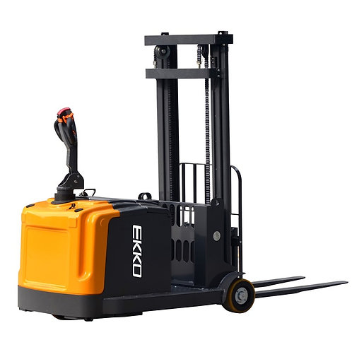 "EKKO EK14 Counterbalanced Walkie Stacker 3300 lb Cap., 118"" Height"