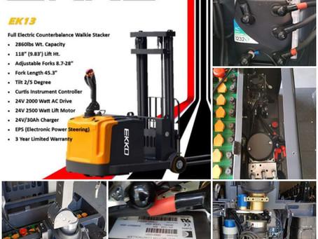 "EKKO EK13 Countebalance walkie stacker ""internals"""