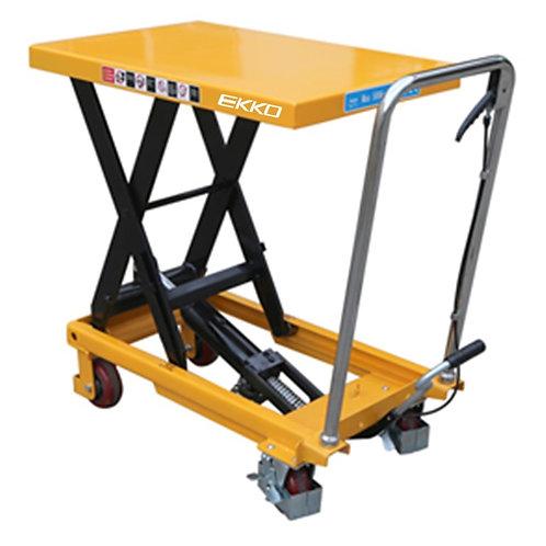 EKKO T50 Heavy Duty Scissor Lift Table Cart 1100 lb Capacity