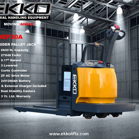 COMING SOON: EP30A Walkie Rider Pallet Jack