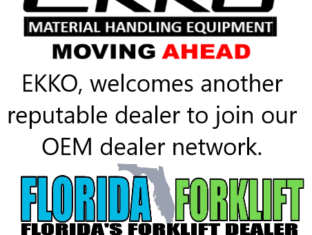 Welcome Florida Forklift as our newest OEM Dealer
