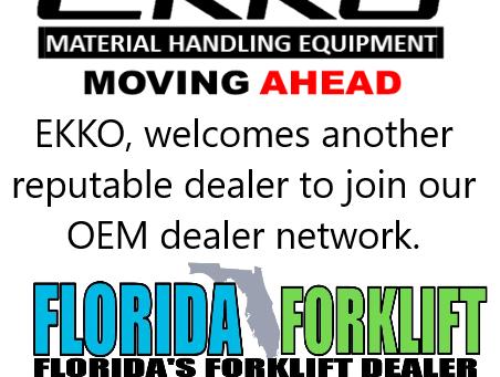 Welcome Florida Forklift as our newest OEM Dealer