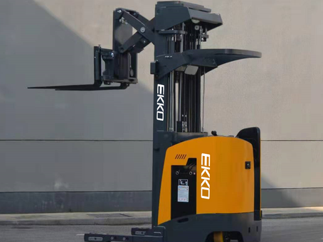 EKKO's Stand-up NA Reach Truck
