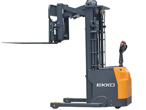 "EKKO ER15 Walkie Reach Truck 3300 lb Cap., 177"" Height, Side Shift"