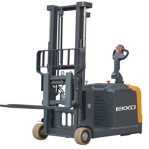 EKKO EK14S-130 Counterbalanced Walkie Stacker SIDE-SHIFTING