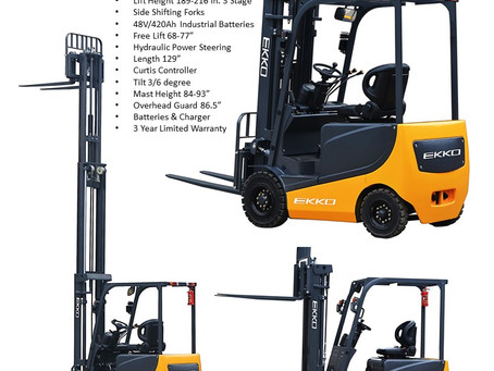 EKKO 4 Wheel Electric Forklifts