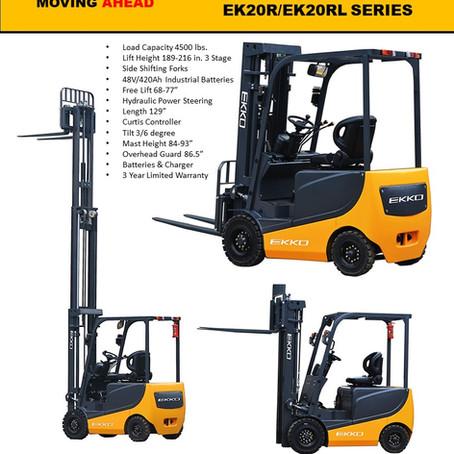 EKKO 4 Wheel Electric Forklifts