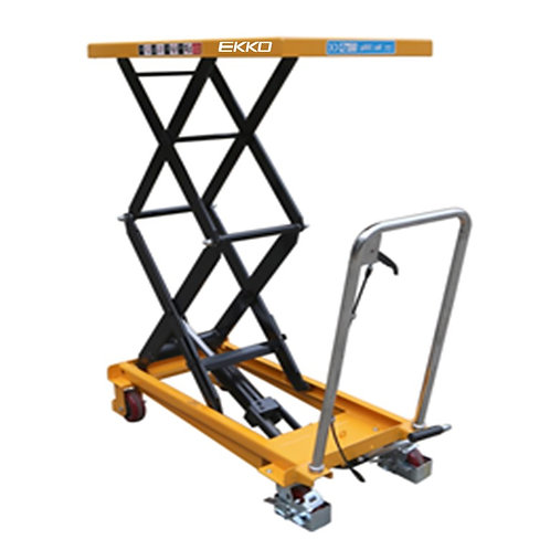 EKKO T35 Dual Scissor Lift Table Cart 770 lb Capacity