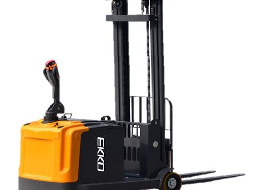 "EKKO EK13-138 Counterbalance Walkie Stacker 2860 lb Cap., 138"" Height"
