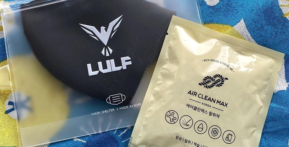 LULF 抗菌口罩+口罩收納袋組