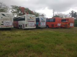 Nuestro transporte.